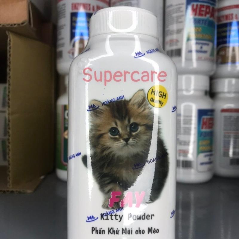 Phấn Thơm Khử Mùi Tắm Khô Cho Mèo Fay Kitty 120Gr