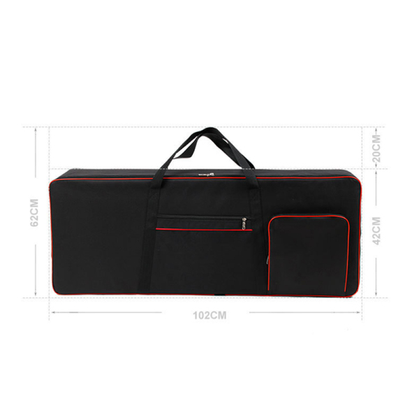 61 Key Keyboard Instrument Keyboard Bag Thickened Waterproof Electronic Piano Cover Case For Electronic