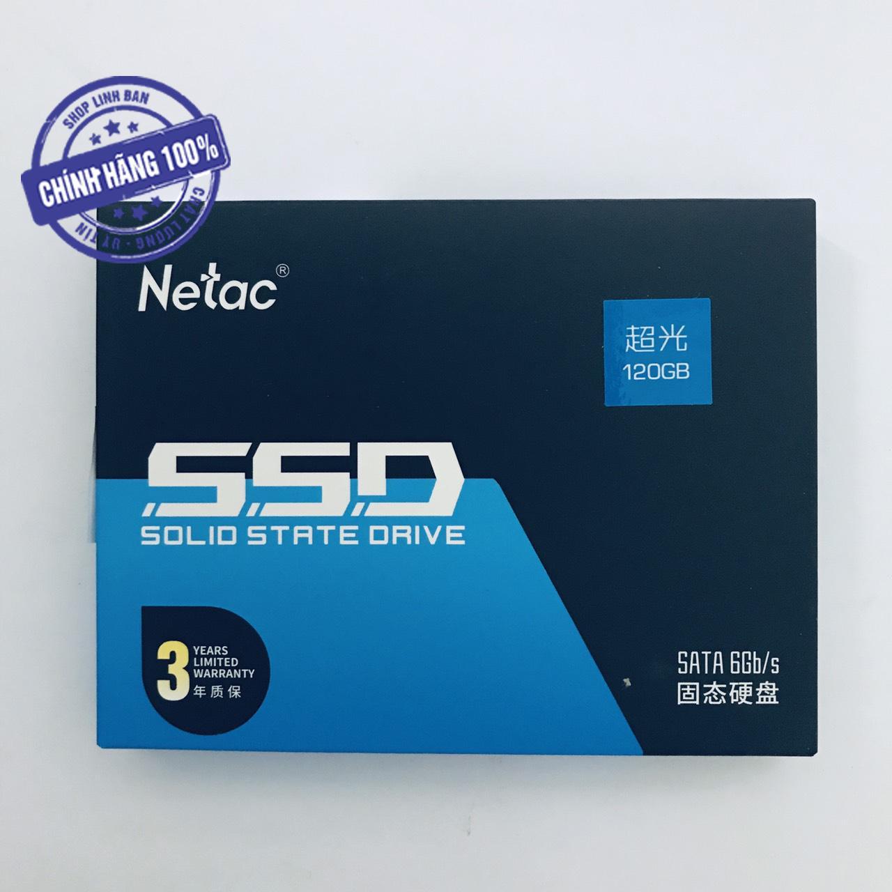 Ổ cứng SSD 120GB Netac N535S SATA III 6GB/s 2.5 inch
