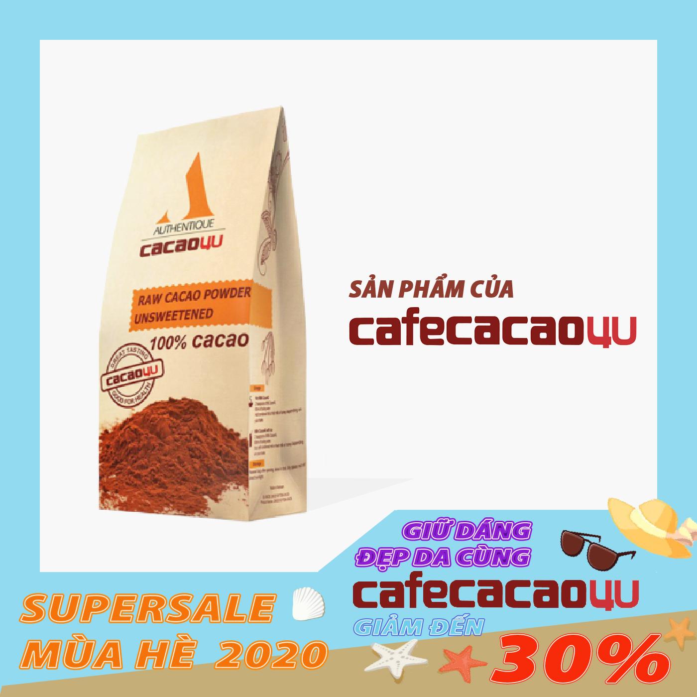 Bột Cacao Nguyên Chất Loại Ngon 220g Giảm Giá Khủng