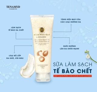 Sữa tẩy tế bào chết Fresh White Sand TENAMYD 120ml thumbnail