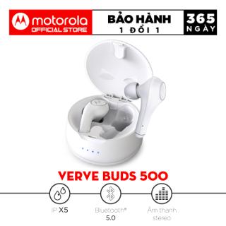 Tai nghe Bluetooth TWS - Motorola Vervebuds 500 - Bluetooth 5.0, Chống nước IPX5 thumbnail