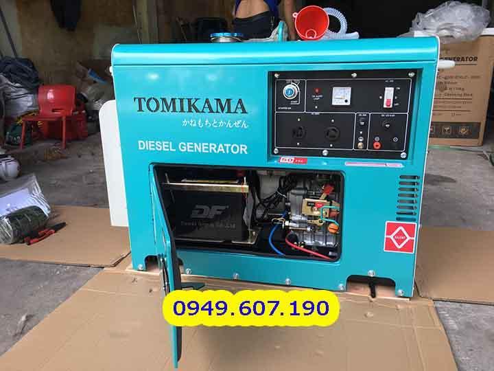Máy Phát Điện 7kva - Chạy Dầu Chống Ồn Tomikama 8500