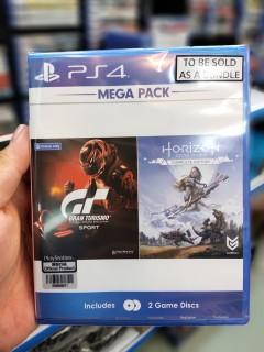 Đĩa game Mega Pack 3 ( Gran Turismo + Horizon Zero Dawn Complete ) PS4 thumbnail