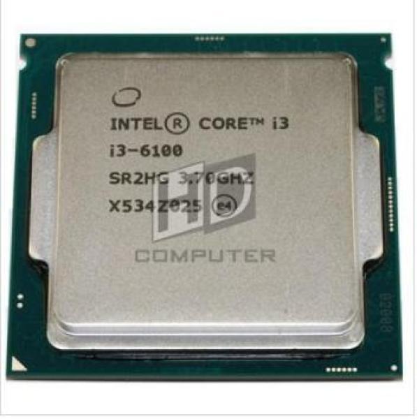 Giá Bộ xử lý Intel® Core™ i3-6100, cpu i3 6100, chíp máy tính socket 1151 V1 tặng fan tản nhiệt intel