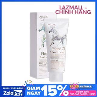 Kem dưỡng da tay từ dầu ngựa 3W Clinic Horse Oil Hand Cream 100ml thumbnail