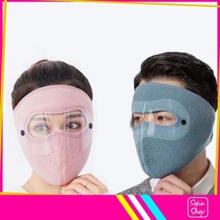 Khẩu Trang Ninja Có Kính Chống Nắng Chống Bụi Nam Nữ Vải Nỉ Che Kín Mặt NCK210 - Khau Trang Ninja Co Kinh Chong Bui Chong Nang Chong Ret Nam Nu Vai Ni Che Kin Mat - ShopSofia thumbnail