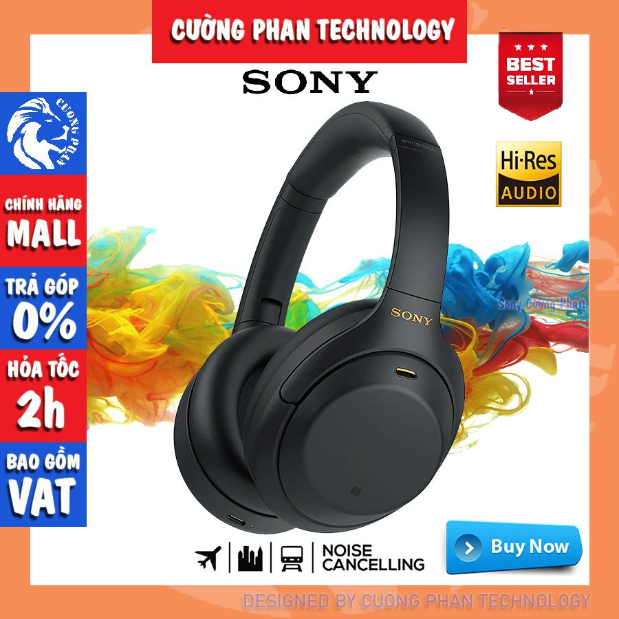 [Trả Góp 0%] Tai Nghe Chụp Tai Chống Ồn Sony WH-1000XM4   Chính Hãng Sony Việt Nam   Bảo Hành 12 Tháng