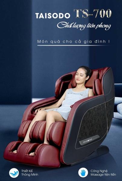 Ghế massage liên động tự động massage toàn thân thời thượng quý phái trị liệu Nhật Bản TAISODO TS-700