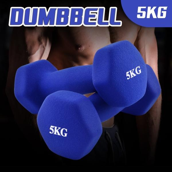 Bảng giá GYM19 - COMBO 2 tạ tay cao cấp Tập Gym 5kg