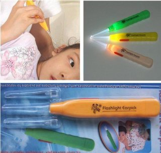 (HÀNG HOT) Dụng cụ lấy Ráy Tai Có Đèn Pin cao Cấp - Sử dụng dễ dàng an toàn cho mọi ngưòi, Đảm bảo vệ sinh sạch sẽ cho đôi tai của bạn 2