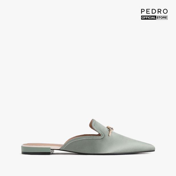 PEDRO -  Giày đế bệt nữ mũi nhọn Gold Knot Detailed Mesh PW1-66300059-12 giá rẻ