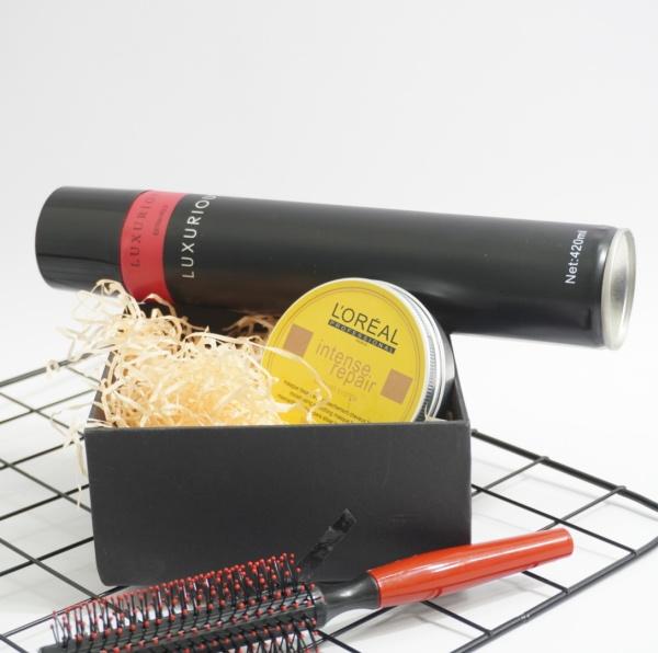 Combo sáp vuốt tóc nam Lreal + lược tạo kiểu/ sáp vuốt tóc/ wax vuốt tóc/ keo vuốt tóc/ sap vuot toc / wax giá rẻ