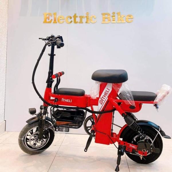 Mua Xe Đạp Điện Gấp Gọn ADIMAN A2. Xe Điện Mini (Pin Lithium 48v-20A)