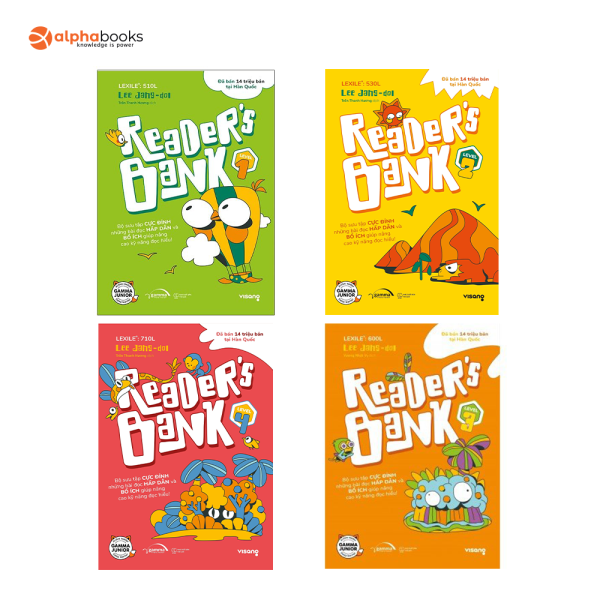 Sách - Combo Readers Bank