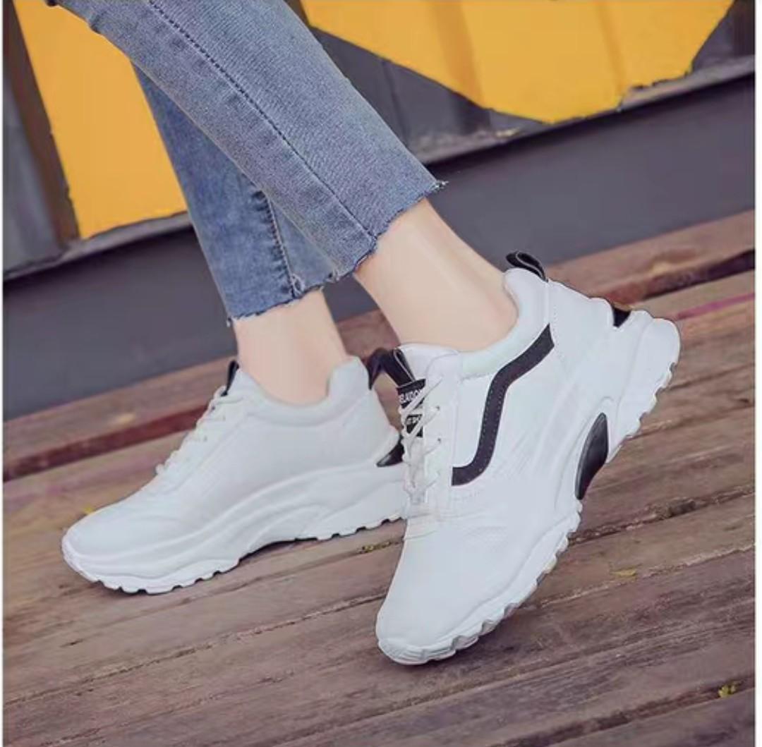 Giày si thể thao nữ 3 màu (kiểu 2) Nhật Bản