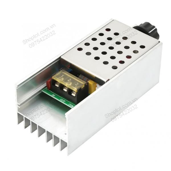 Bộ chiết áp (dimmer) 4000W-60000W-10000W 220V tùy chọn cho đèn sưởi, đèn chiếu sáng, động cơ