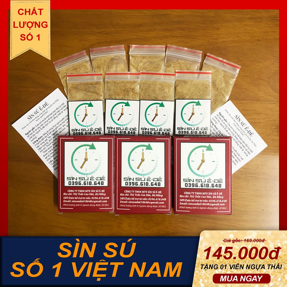 Sìn Sú Ê Đê-Combo 2 Hộp Thượng Hạng 1 gram
