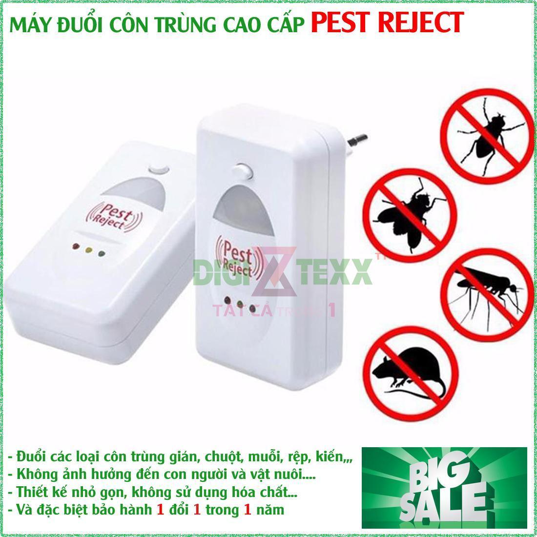 Máy Đuổi Chuột Gián Muỗi Và Côn Trùng Pest Repeller , Máy Xua Đuổi Côn Trùng Pest Reject Giúp Xua Đuổi Triệt Để Các Loại Côn Trùng Bằng Sóng Siêu Âm, An Toàn Cho Sức Khỏe - Thiết Thực Cho Gia Đình Bạn