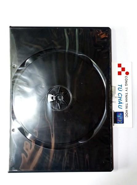 Bảng giá Hộp đựng đĩa CD - DVD nhựa đen (10 Hộp) Phong Vũ