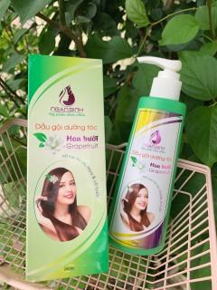 Dầu gội hương bưởi Ngân Bình chai 250ml, tóc chắc khỏe, chống gãy rụng, tóc mọc nhanh hơn, dài hơn thumbnail