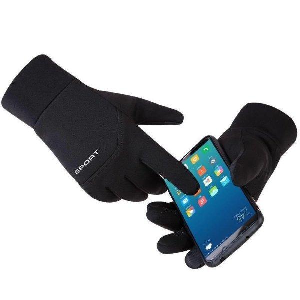 Bao tay nam chống rét, bao tay da lộn nam chống rét, Găng tay phượt nam mẫu mới chống rét cảm ứng điện thoại - Thiết Kế Cá Tính N2C01