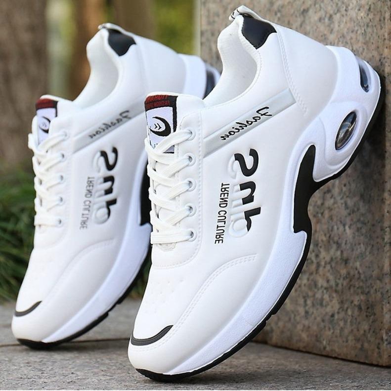 Giày Thể Thao Nam Sneaker Hot Trend 2020 - Nâng Chiều Cao 4-5 cm, Có Đệm Khí Trợ Lực Êm Chân, Thoáng Khí, GTTN-61. giá rẻ