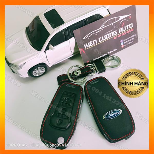 Bao da Chìa Khóa Xe Ford Ranger Willtrack - Mẫu Chìa Thông Minh