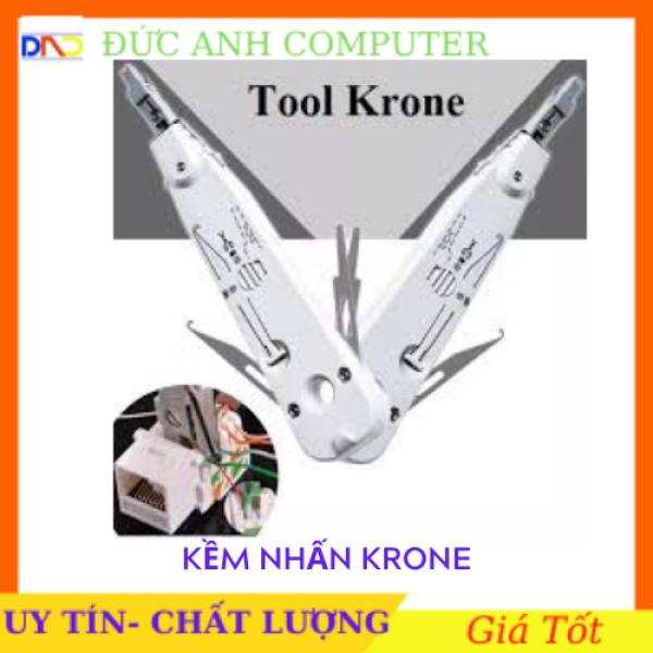 Bảng giá Kềm nhấn Krone (trắng) chuyên dùng nhấn dây mạng dây điện thoại - tool nhấn mạng cao cấp cam kết sản phẩm đúng mô tả chất lượng đảm bảo Phong Vũ