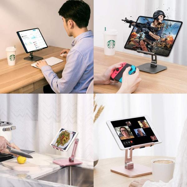 Giá đỡ điện thoại - IPad máy tính bảng để bàn YOOBAO B3L - Hợp kim nhôm - Điều chỉnh độ cao