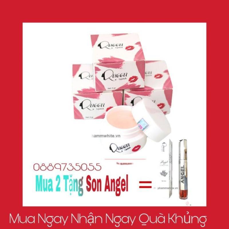 Ủ hồng môi hồng ti Queen Giúp môi mềm mịn căng bóng(Mua 2 Tặng Son Angel) cao cấp