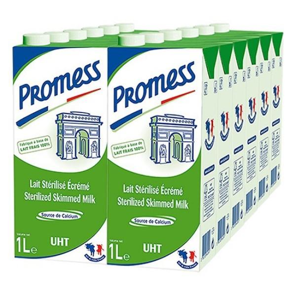 Sữa tươi Promess 1L Không béo