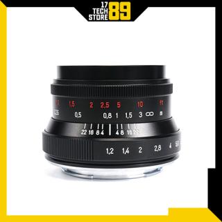 Ống kính 7artisans 35mm F 1.2 Mark II (Manual Focus) Ngàm Fujifilm-Sony thumbnail