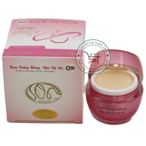 Kem dưỡng da Trắng hồng SON Bảo vệ da nhau thai cừu - Collagen Q10 (Hồng-trắng) giá rẻ