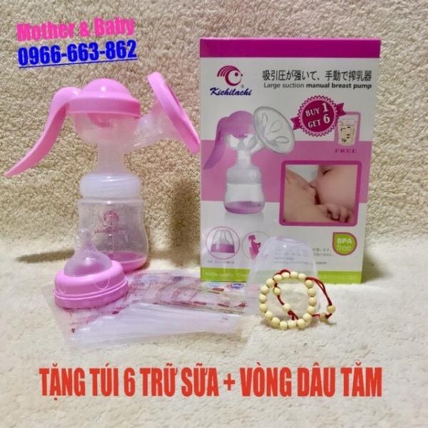 Máy Hút Sữa Cầm Tay Kichilachi ( Tặng 6 túi trữ sữa và 1 vòng dâu tằm )
