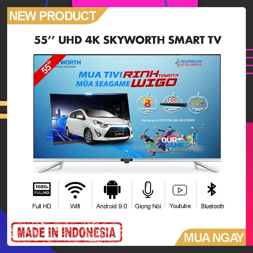 Bảng giá Smart Voice TV 55 inch UHD 4K - Model 55TB7500 (2019) Tràn viền, Android Pie 9.0, Voice Search, AI TV, Google Assistant, Bluetooth 5.0 - Bảo Hành 2 Năm