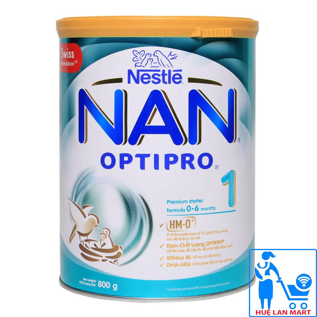 Sữa Bột Nestlé NAN Optipro 1 HM-O Hộp 800g (Dành...