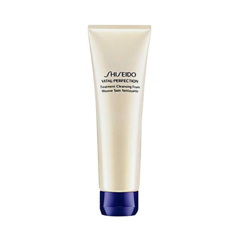 Sữa Rửa Mặt chống lão hóa Shiseido Vital Perfection Treatment Cleansing Foam 30ml nhập khẩu