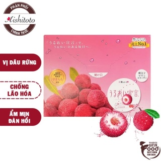 Thạch Bổ Sung Collagen Vị Dâu Rừng Aishitoto Collagen Jelly Bayberry 300g thumbnail