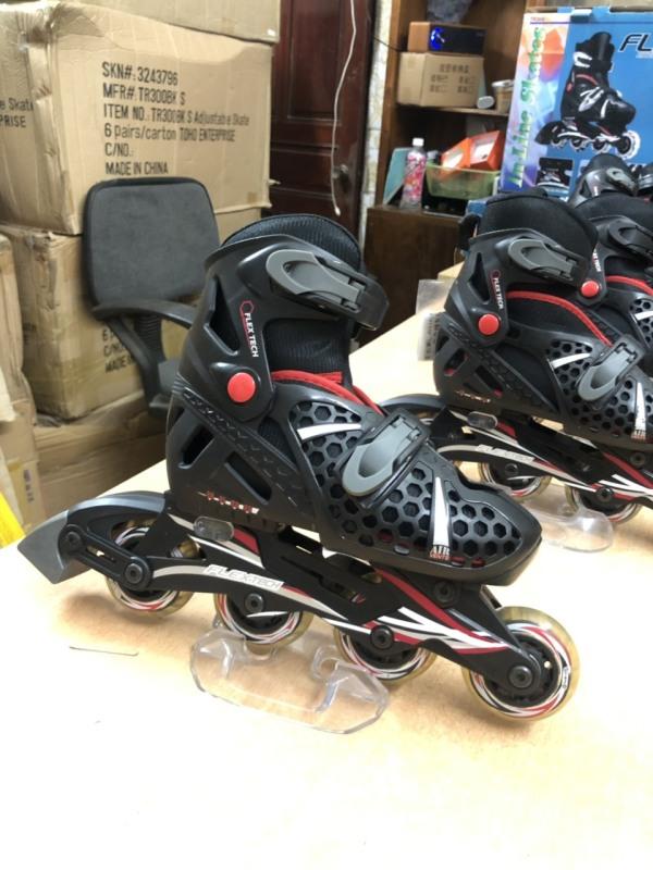 Phân phối Giày trượt Patin FLEXTECH mẫu mới xuất nhật tặng bộ bảo vệ tay chân