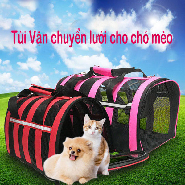 Túi vận chuyển chó mèo Túi lưới cho thú cưng - Cutepets