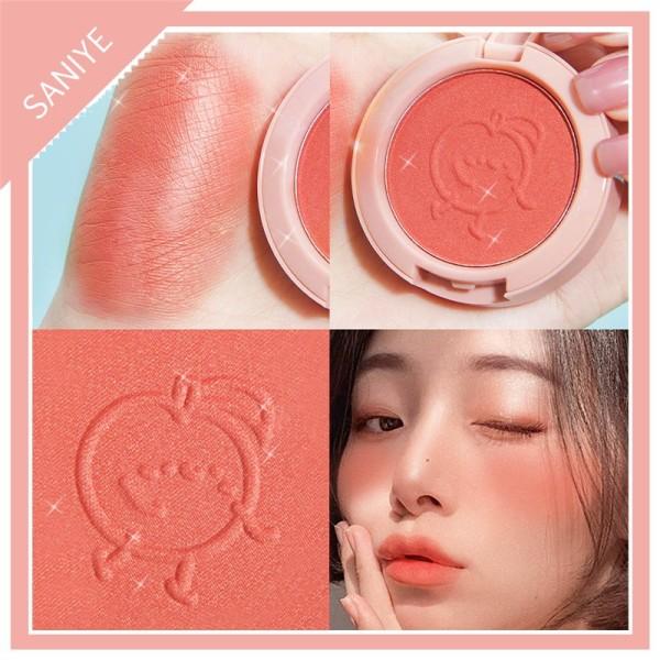 Phấn má SANIYE tông màu hồng có thành phần khoáng chất tự nhiên dành cho trang điểm E0150 - INTL giá rẻ