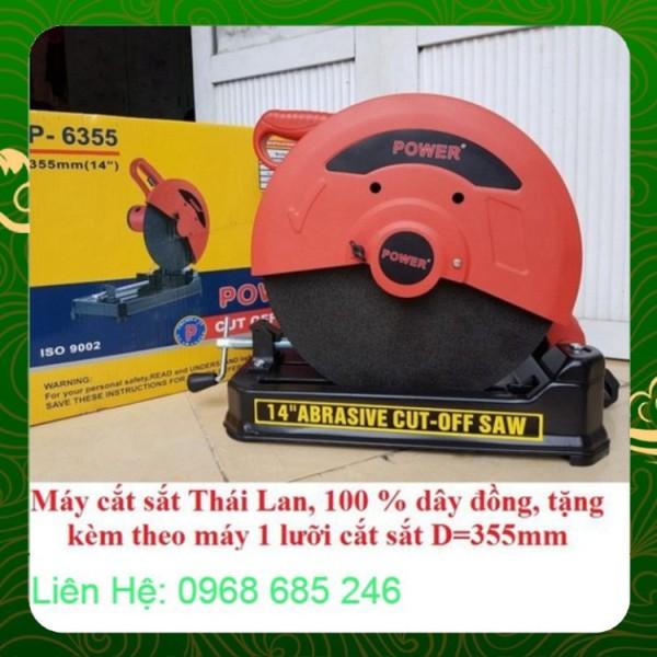 Máy cắt sắt Power 2000w P6355 Nhật Việt official