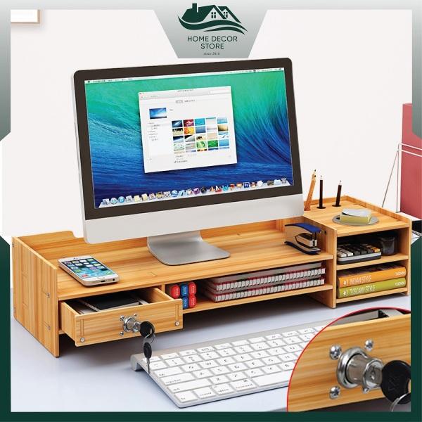Bảng giá Kệ màn hình máy tính để bàn làm việc ZO2-S (Tặng kèm giá đỡ điện thoại) Phong Vũ