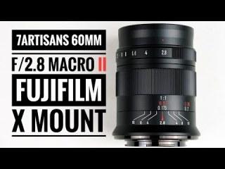 [Trả góp 0%](CÓ SẴN) Ống kính 7Artisans 60mm F2.8 Mark II - Macro 1 1 dùng cho Sony E, Fujifilm, Canon EOS-M, Nikon Z và Panasonic Olympus M4 3 thumbnail
