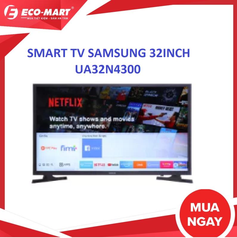 Smart Tivi Samsung 32 inch UA32N4300 YouTube, Netflix, Trình duyệt web, Kho ứng dụng Cổng LAN, Wifi Cổng HDMI:2 cổng Cổng AV:Có cổng Composite và cổng Component chính hãng