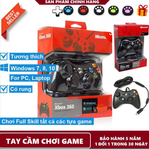 { Bão Sale } Tay Cầm Chơi Game Giá Rẻ - Tay Cầm XBOX 360 - XBox Microsoft - Chiến Mọi Tựa Game - Giành Cho Mọi Lứa Tuổi - Bảo Hành 12 Tháng - Lỗi 1 Đổi 1