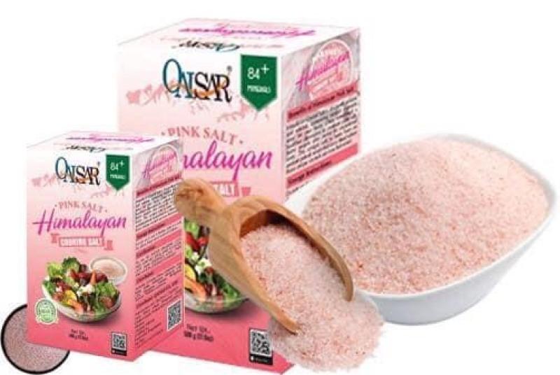 hộp muối tắm hồng Himalayan 500gr