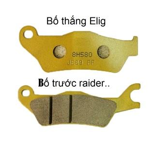 [Chính Hãng]Bố thắng Elig đĩa trước cho xe Satria raider 150, má phanh đĩa trước cho raider 150(satria 150))-- thumbnail