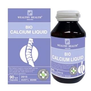 [NHẬP KHẨU ÚC] BIO CALCIUM LIQUID giúp tăng chiều cao, làm giảm còi xương ở trẻ nhỏ và giảm loãng xương ở người lớn lọ 90 viên thumbnail